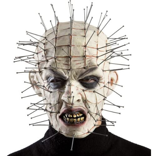 Maschera Horror Halloween per adulti, in lattice