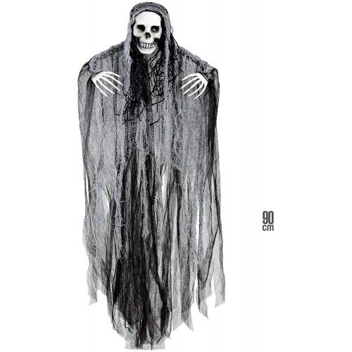 Decorazione teschio Grim Reaper, da appendere