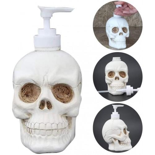 Dispenser sapone form teschio Halloween, in resina