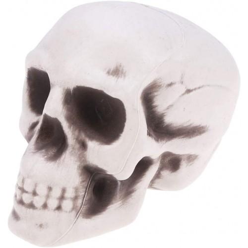 Teschio in PVC, addobbo Halloween