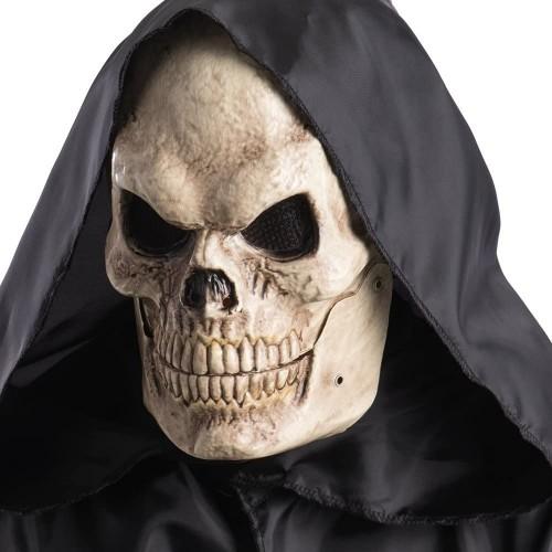 Maschera Teschio con mandibola mobile, taglia unica