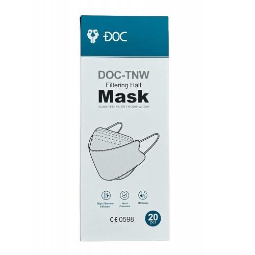Set 20 mascherine FFP3 certificate CE, confezionate singolarmente