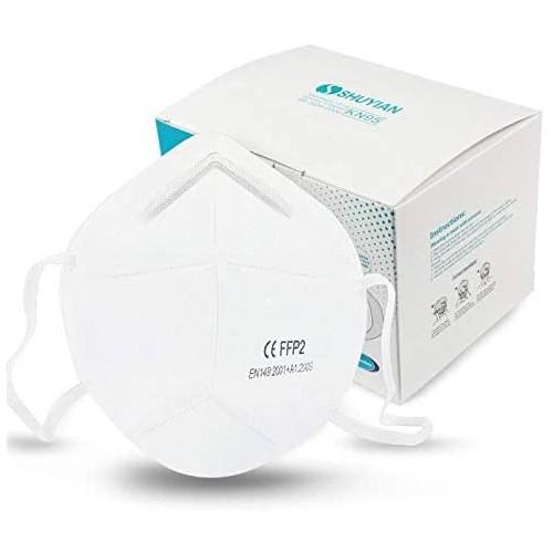 Box 20 mascherine FFP2, KN95 monouso con passanti per orecchie