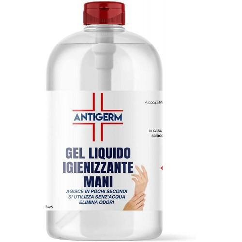 Gel Igienizzante liquido per mani da 1 litro - Antigerm