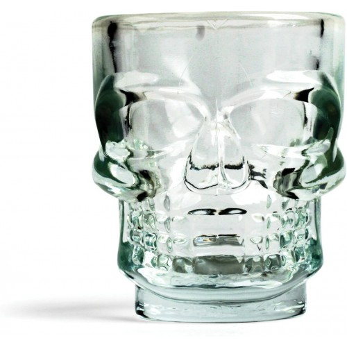 4 Bicchierini liquore - Skull , teschio Halloween
