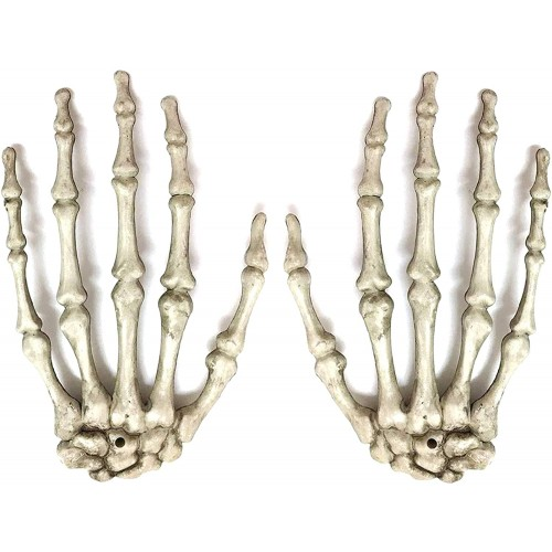 Mani scheletro di Halloween , oggetto di scena
