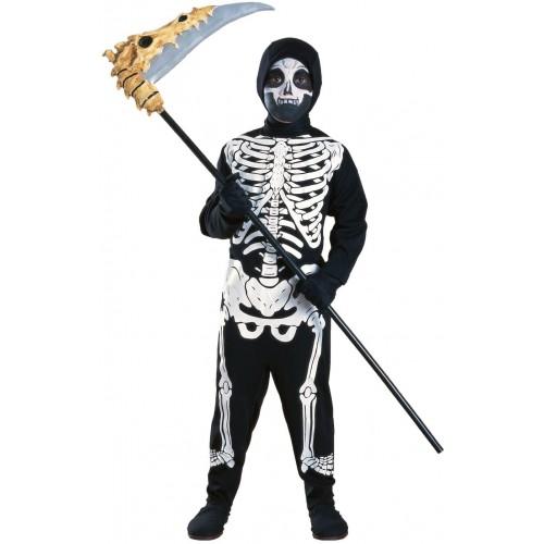 Costume da scheletro per bambini, per Halloween