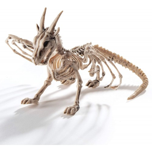 Scheletro di Drago per Halloween, decorazioni terrificanti