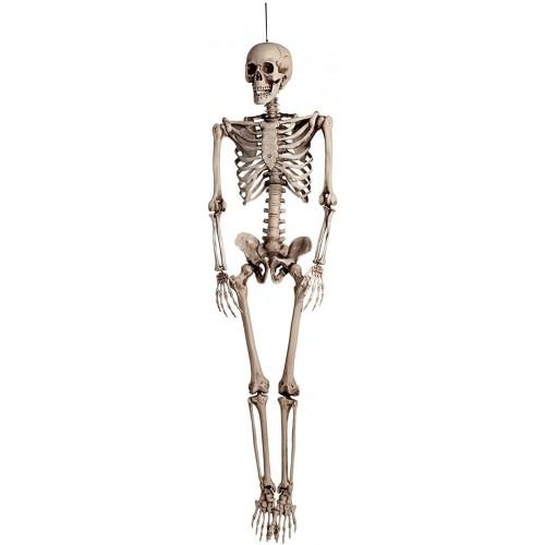 Scheletro Halloween da 160 cm, gigante, decorazione terrificante