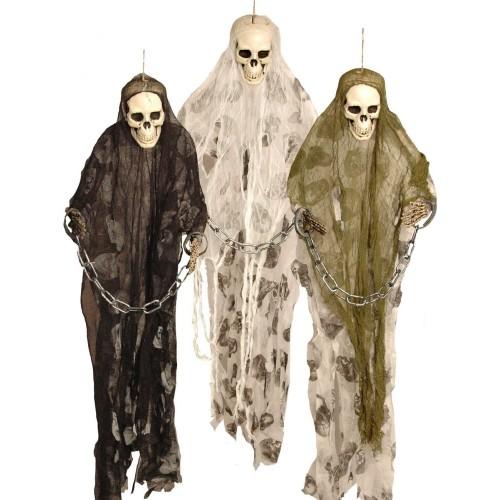 Set 3 scheletri prigionieri da 91 cm, decorazione per Halloween