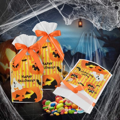 50 Sacchetti per caramelle Halloween Party
