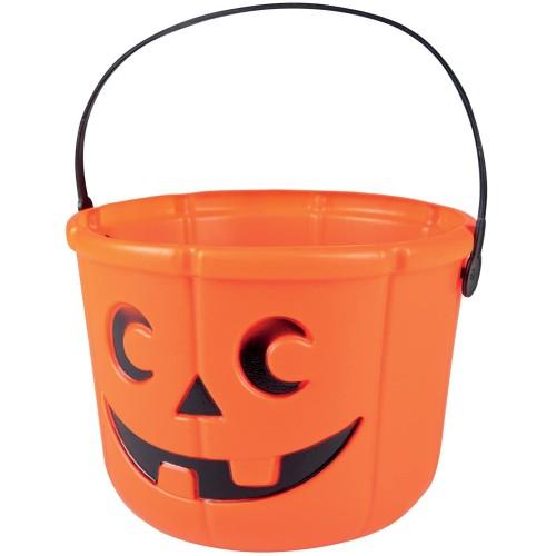 Vasetto Zucca di Halloween, porta caramelle e dolci