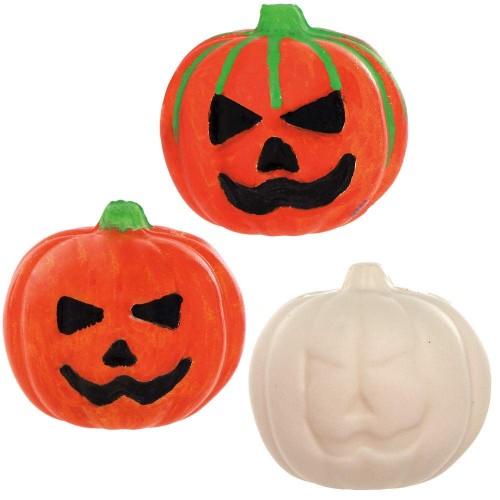 6 Palline antistress zucca di Halloween, idea regalo