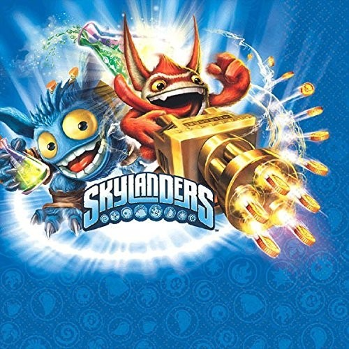 American Greetings Skylanders lunch Napkins  count
