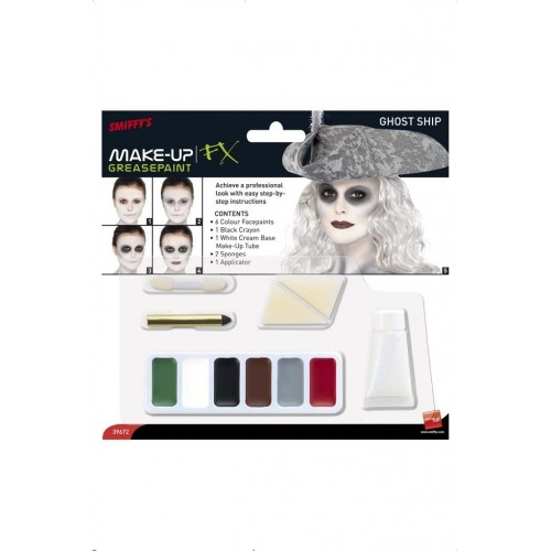 Kit Trucco fantasma di Halloween, sposa cadavere