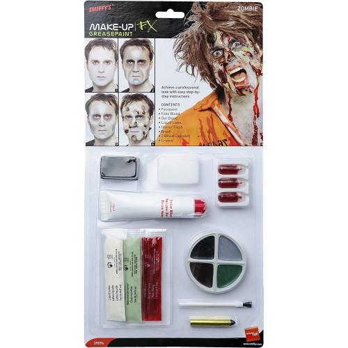 Kit make up in lattice da Zombie, trucco realistico Halloween
