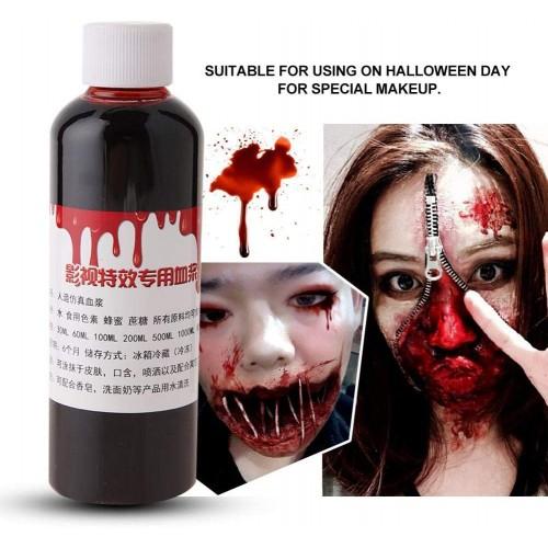 Sangue finto professionale, barattolo da 100ml, per Halloween