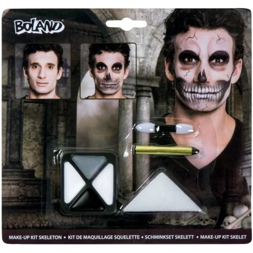 Kit Make up trucco da Scheletro, per Halloween party