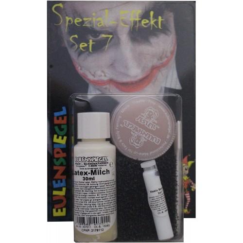 Set di 7 trucchi per Halloween, effetti speciali