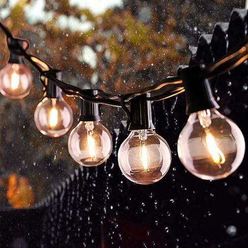 Catena Luminosa da esterno, 7.6 metri, con lampade a led
