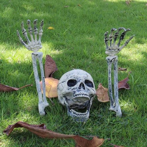 Scheletro sepolto per Giardino - Halloween, addobbi e decorazioni