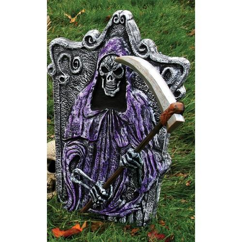 Tomba per Halloween da cm 57, con scheletro della morte