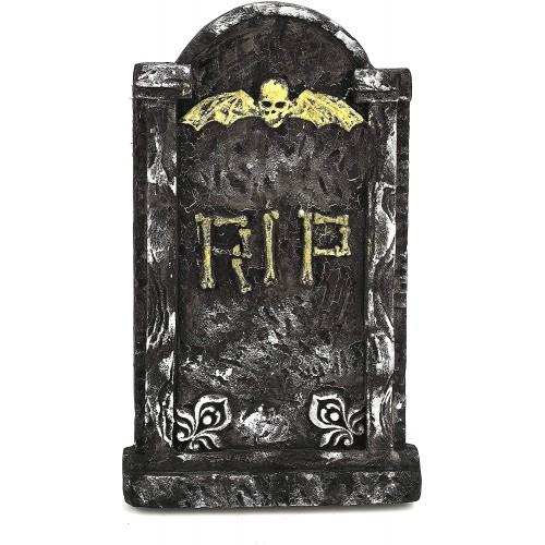 Decorazione Halloween Lapide realistica RIP