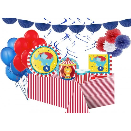 Kit 8 persone Circus Party completo