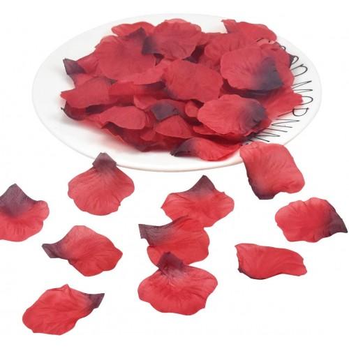 1500 Petali di rosa finti per San Valentino, in seta, per allestimenti