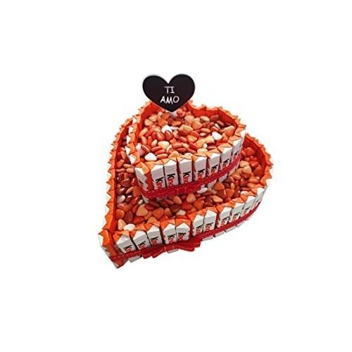 IRPot - Torta barrette Kinder San Valentino - KITK01 Kit fai da te