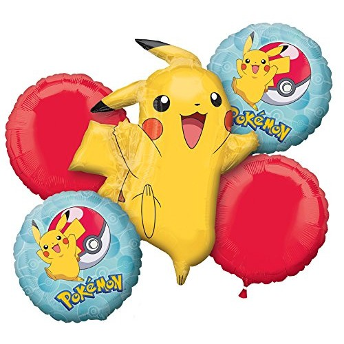 Bouquet di palloncini Pokemon