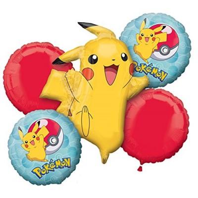 Bouquet di palloncini Pokemon