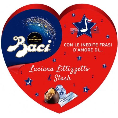 Confezione Baci perugina forma cuore, Autografi d'amore