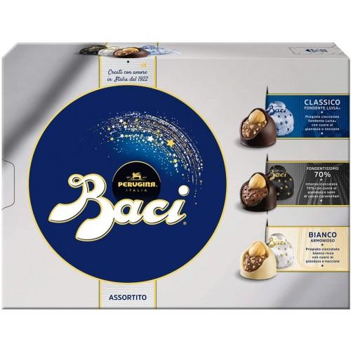 Baci Perugina, gianduia e nocciola, scatola da 225 gr, idea regalo