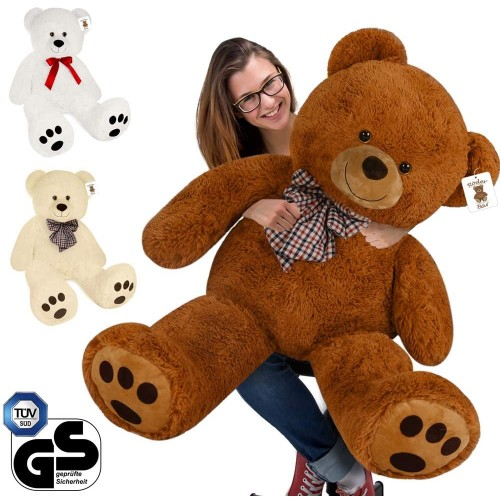 Peluche gigante orso Teddy, da 50 cm, idea regalo