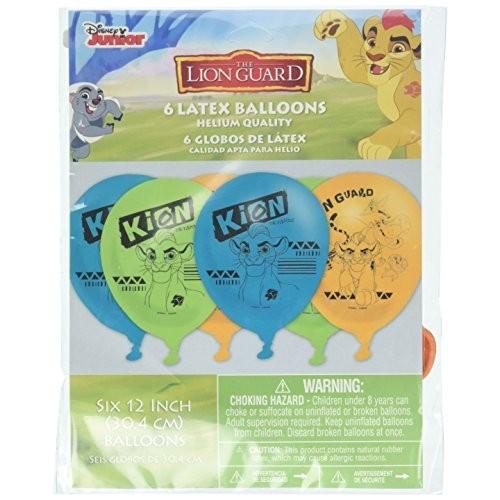 Disney The Lion Guardia Compleanno Palloncini  6 conteggio