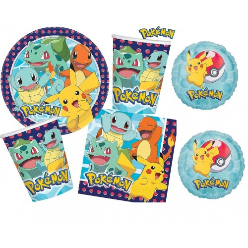 Kit 16 persone Pokemon