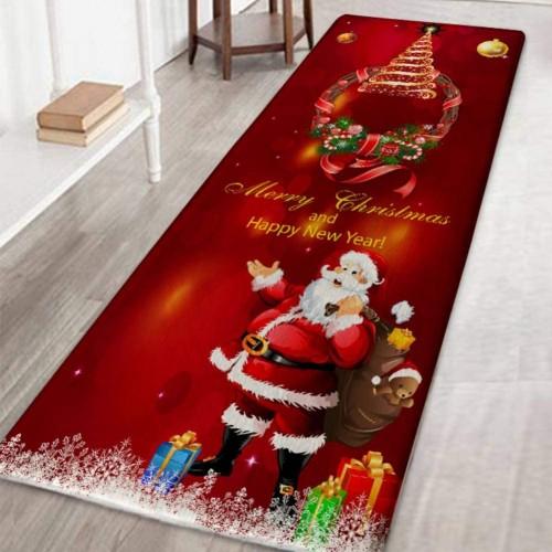 Tappeto antiscivolo natalizio, decorazione per la casa