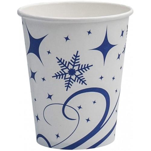 Set da 250 Bicchieri usa e getta natalizi, per feste o eventi