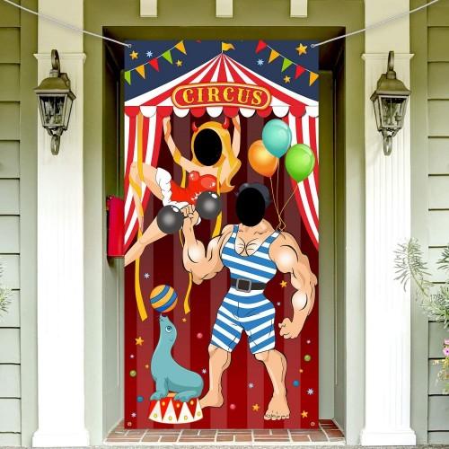Banner photo booth Circo
