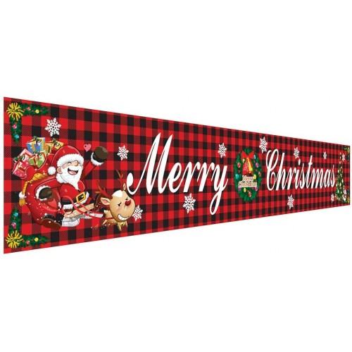 Banner Marry Christmas - Buon Natale, decorazione da appendere