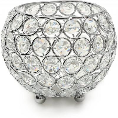 Portacandele di cristallo Centrotavola per la casa, idea regalo