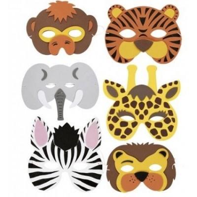 Mascherina animali Circo