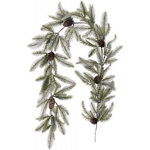 Ghirlanda di Pino e pigne da 150 cm, per ingresso