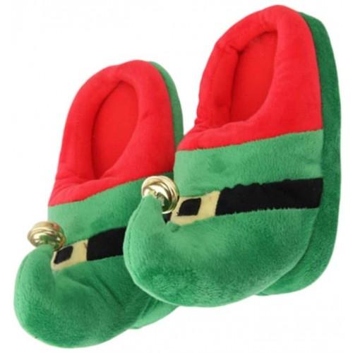 Pantofole Natalizie, Elfo, antiscivolo, per bambini, idea regalo