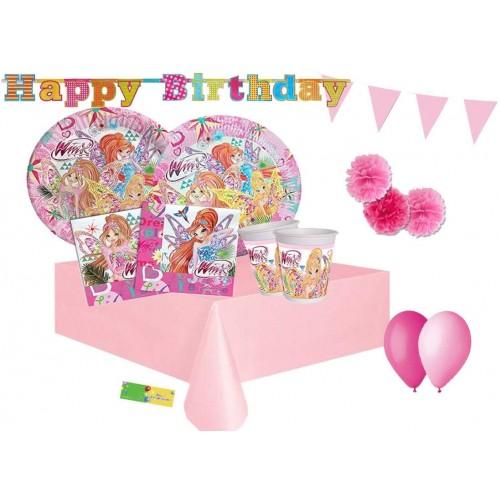 Kit compleanno 40 persone Winx