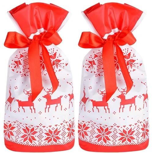 Set 50 sacchetti per doni di Natale, idea regalo