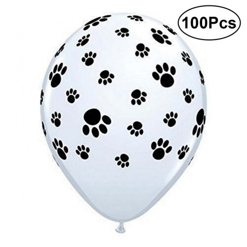 TOYMYTOY Palloncini in lattice 100Pcs Palloncino in lattice per feste da 12 pollici bianco