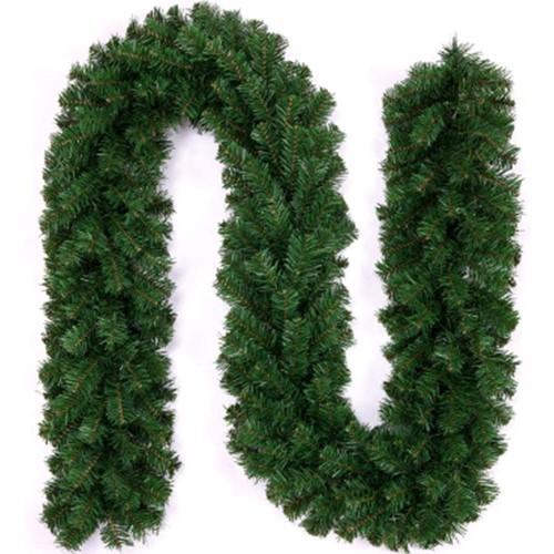 Ghirlanda verde, corona di pino artificiale, in PVC