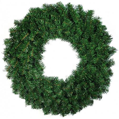 Ghirlanda,  Corona di Natale verde, pino artificiale